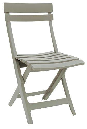 GROSFILLEX Miami Chaise Pliante, Lin, 50 x 42 x 80 cm