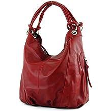 37d788984d66b Suchergebnis auf Amazon.de für  ledertasche damen schwarz groß - Rot