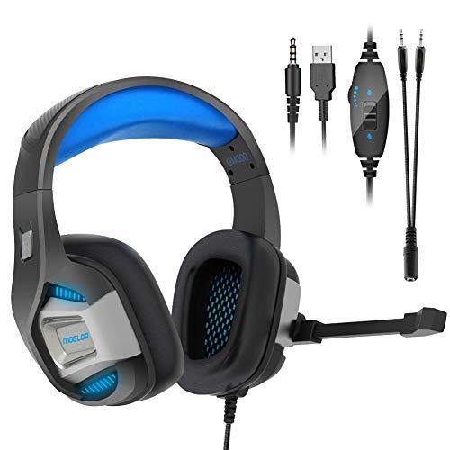 Auriculares Cascos Gaming PS4 Gamer PC Micrófono