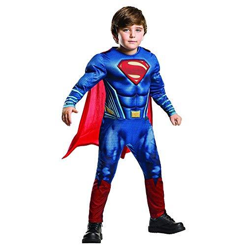 elden Kostüm, Muscle Superman Kostüm, Halloween Cosplay Kostüm, Karneval Party Kostüm, 3D Style (S-XL),Blue-XL ()