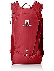 Salomon Trailblazer 20 Mochila Ligera para Senderismo o Ciclismo, 20 L, Unisex Adulto, Rojo (Biking Red), Talla única
