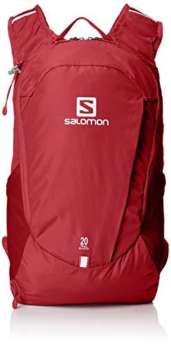 Salomon, Leichter Rucksack, Für Wandern oder Radfahren, 20L, TRAILBLAZER 20, Rot (Biking Red), LC1084600
