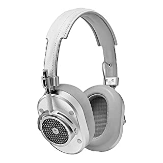 Master & Dynamic Signature MH40 Over-Ear Closed Back Headphones with High Sound Quality and High Level of Design, White Leather (B01A5SW50Y) | Amazon price tracker / tracking, Amazon price history charts, Amazon price watches, Amazon price drop alerts