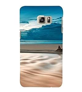 PrintVisa Travel Beach Art Design 3D Hard Polycarbonate Designer Back Case Cover for Samsung Galaxy S6 Edge+ Plus