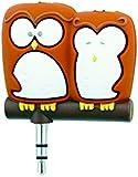 Spinning Hat Headphone Splitters - Owls