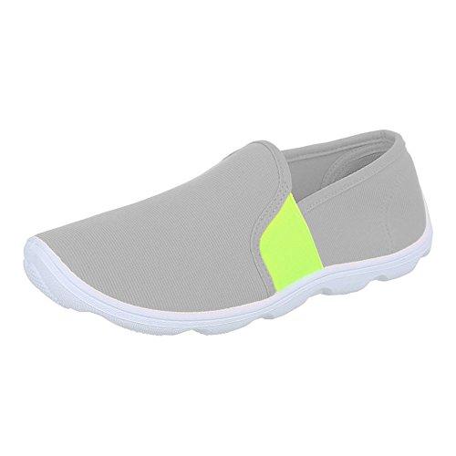 Damen Schuhe, C27-10, HALBSCHUHE SPORTLICHE SLIPPER