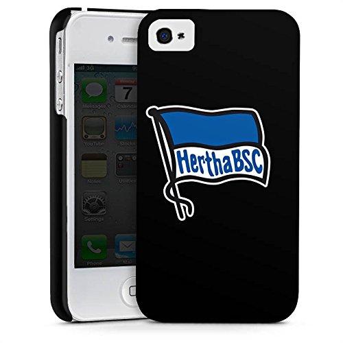 Apple iPhone 6 Plus Hülle Case Handyhülle Hertha BSC Fanartikel Fussball Premium Case glänzend