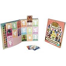 Album collector de cartes amiibo Animal Crossing - série 4 + 3 cartes (1 spéciale + 2 standard)