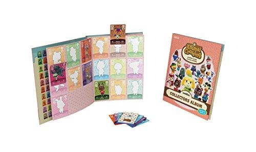 Animal Crossing amiibo Karten Sammelalbum 4 inkl. 3 Karten