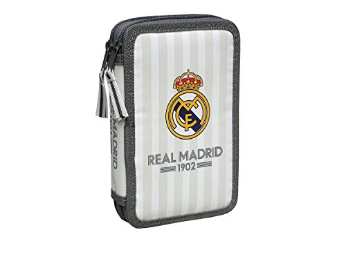 Real Madrid – Triple Soft, portatodo, 21,5x6x11 cm  (Cyp Imports S.L.)