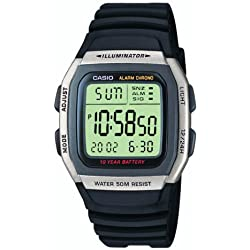 Casio Collection Reloj Digital para Hombre con Correa de Resina – W-96H-1AVES
