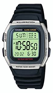 Casio Men's Collection Digital Watch with Resin Strap W-96H-1AVES