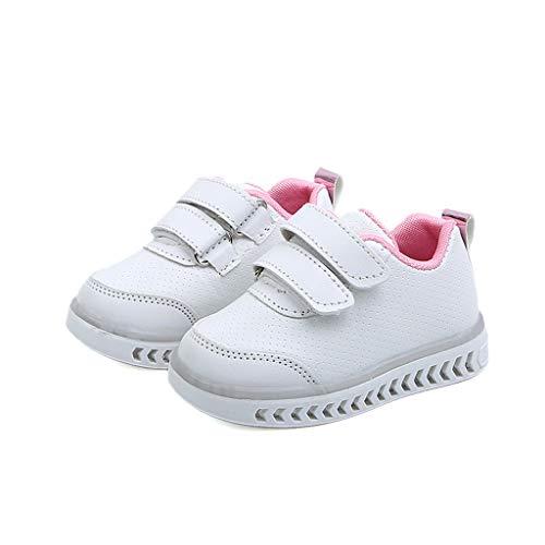 1c5f7c37cf0b4 Moonuy 2019 New Toddler LED Light Sneakers Nouveau-Né Bébés Filles Bout  Rond Chaussures pour