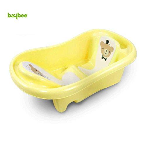 Baybee Amdia Multistage Bath tub Newborn to 18 Month - (Yellow)