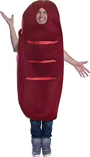 stüm Junggesellenabschied Spaß Frischer Nahrung & Drink Kostüm - Wurst ()