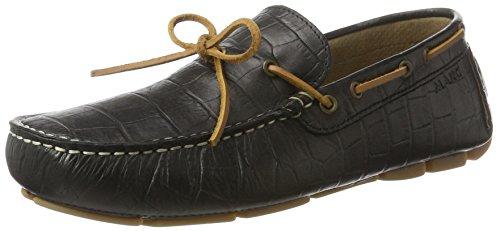 Marc Shoes Herren Lakota Slipper Schwarz (Schwarz)
