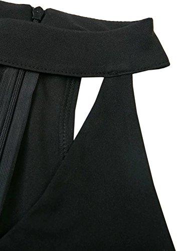Futurino - Combinaison - Femme Noir