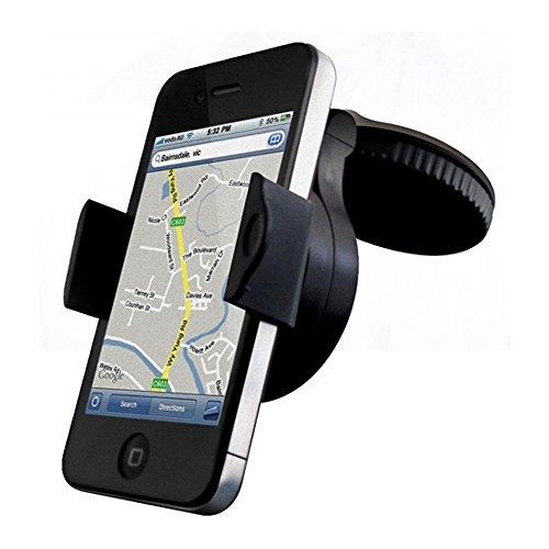 Incutex 360° drehbare Universal KFZ Handy Halterung mit Saugnapf Autohalterung Samsung Galaxy S5 S6, iPhone 5 6