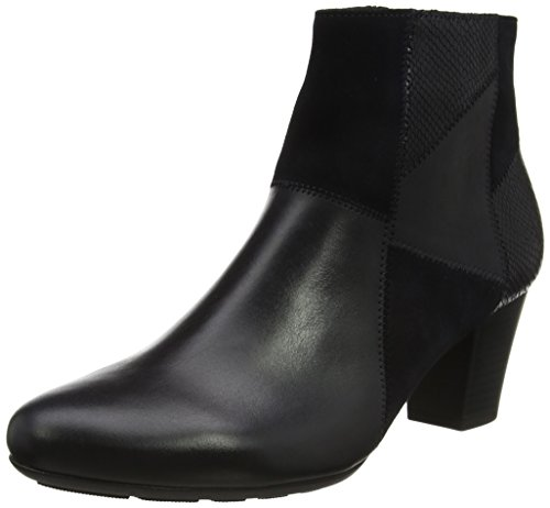 Gabor Shoes Damen Comfort Basic Stiefel, Blau (56 River k. (Micro)), 39 EU