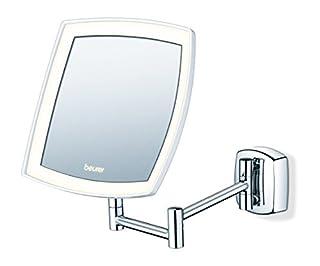 Beurer BS 89 LED Kosmetikspiegel, beleuchtet, zur Wandmontage, 5-fache Vergrößerung (B00NABLZGE) | Amazon Products