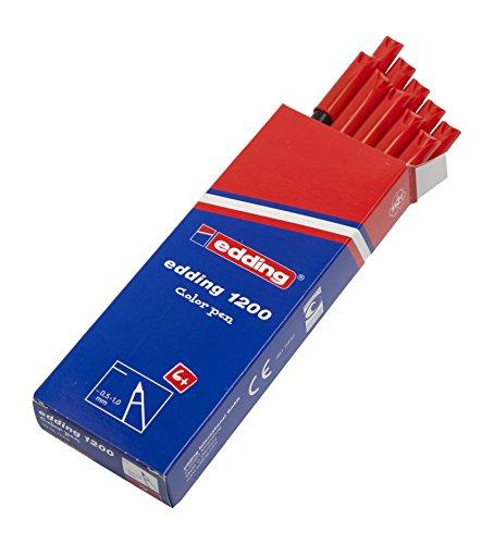 Edding 1200-002 - Rotulador con punta de fibra