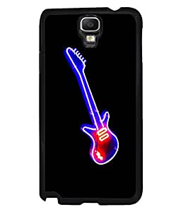 printtech LED Colored Guitar Back Case Cover for Samsung Galaxy Note 3 Neo N7505