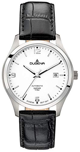 Dugena Reloj Analógico para Hombre de Automático con Correa en Cuero 4460911