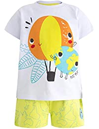 Tuc Tuc Camiseta+Bermuda Punto Estampada Niño World Map 959bfa6c557