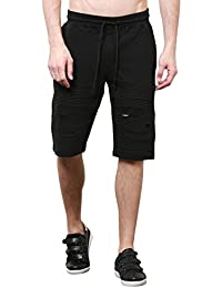 Skult By Shahid Kapoor Men's Cotton Shorts - B076BPJNGM