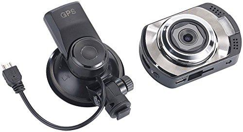 NavGear Car Cam: Full-HD-Dashcam MDV-2295 mit GPS, G-Sensor,...