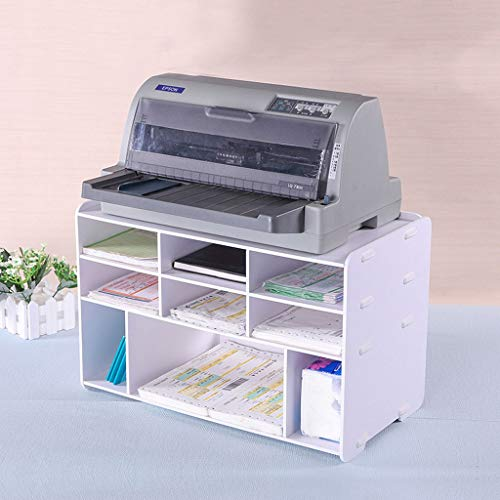 Aktenschrank Drucker Mehrschichtige Bürobedarfsartikel Kopierer Tischablage Aktenregal Schreibwaren Aufbewahrungsbox Schreibtisch Ordentliche Aufbewahrung Heimbüro A4-Papier (Drucker Stationären Papier)