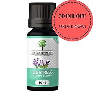 The Balance Mantra De Stress Essential Oil Blend Aromatherapy, 10ml