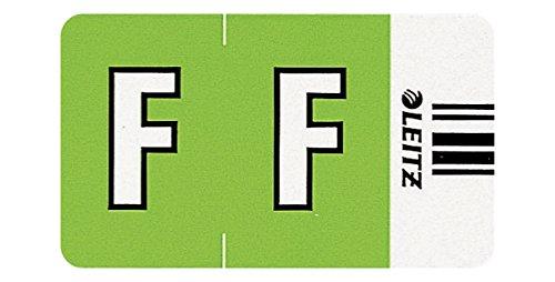 Leitz Orgacolor Rectángulo redondeado Verde - Etiqueta autoadhesiva (Verde, Rectángulo redondeado, 30 x 23 mm, 73 x 73 x 30 mm, 100 g)