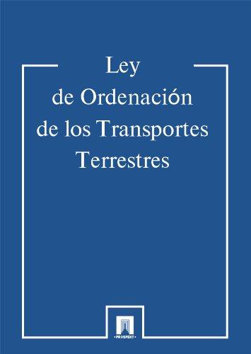 Ley de Ordenación de los Transportes Terrestres por La literatura jurídica
