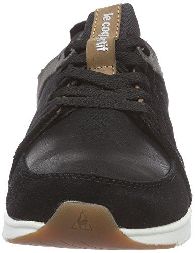 Le Coq Sportif Flore Low-153, Baskets Basses femme Noir - Noir