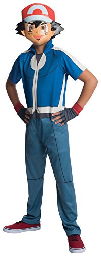 Pokemon Ash Child Costume Small (Kind Pokemon Ash Kostüme)