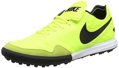 Nike Herren Tiempo X Proximo Tf Fußballschuhe Gelb (Vert Volt/black-vert Volt-white)