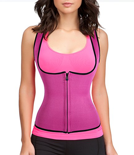 Womens Slimming Sweat Vest Hot Neoprene Shirt Body Shapers for Weight Loss Test