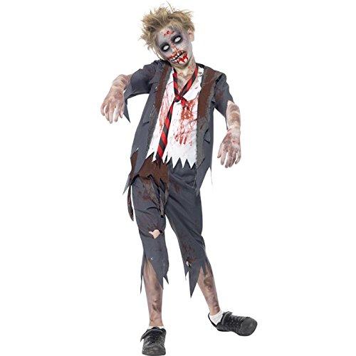 NEU Kinder-Kostüm Zombie School-Boy, Gr. M