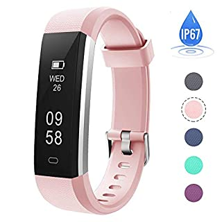 AndThere Fitness Tracker Activity Tracker Smart Bracelet Wrist Sport Watch Pedometer Wristband with Sleep Monitor Calorie Step Counter for Kids Women Ladies Men iOS iPhone Android