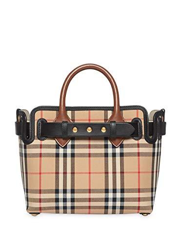 BURBERRY Damen 8015905 Beige Baumwolle Handtaschen