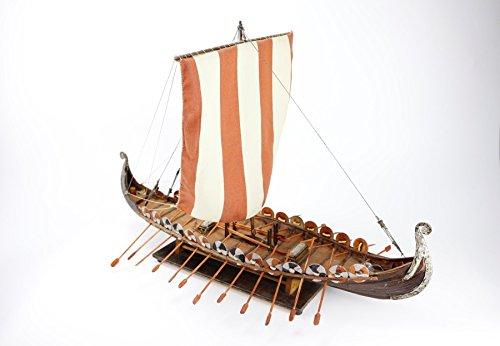 Vikingo Barco Hand Made 63x44 Modelismo Maqueta Naval