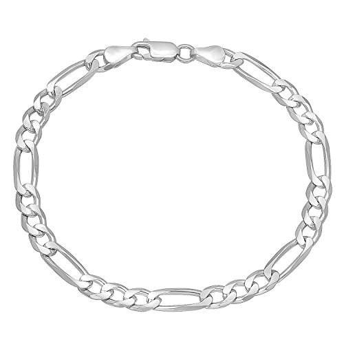 55mm-solid-925-sterling-silver-figaro-link-italian-crafted-bracelet-8