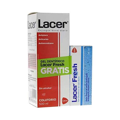 Lacer Colutorio sin Alcohol - 500 ml