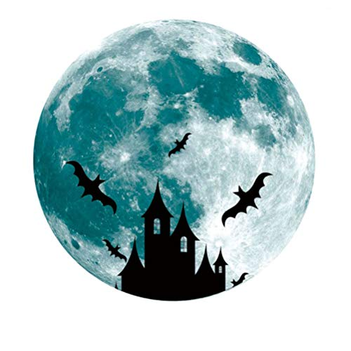 Dark Halloween Wandaufkleber Wandtattoos Halloween Wanddekorationen Fensterbilder 30cm ()