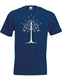 White Tree of Gondor - Rings Lord Gandalf TShirt T-Shirt