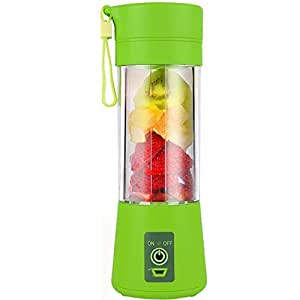 TOPESCT Mini Frullatore Portatile Elettrico per Frutta e Verdura a 6 LameRicaricabile con USB. NUOVA VERSIONE Mixer ottimo fare per succhi, frullati, smoothie perfetti ovunque.