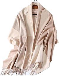 Trend Fabric Foulard d hiver À Carreaux en Cachemire Écharpe Féminin Est  Long Et Polyvalent Double Usage Automne Et Hiver Laine… 95e504a5e84