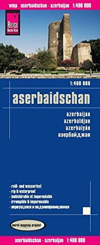 Azerbaijan rkh r/v (r) wp GPS por Reise Know-How Verlag