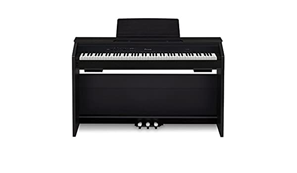 Casio PX850 BK 88-Key Touch Sensitive Privia Digital Piano with 4 Layer Stereo Grand Piano Samples